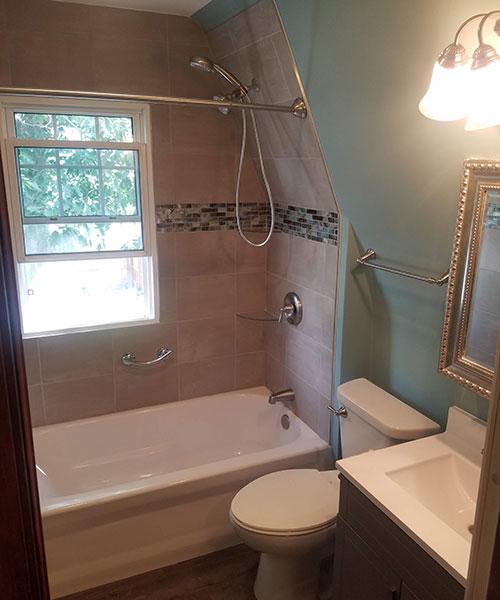 View Of Bathroom From Door
