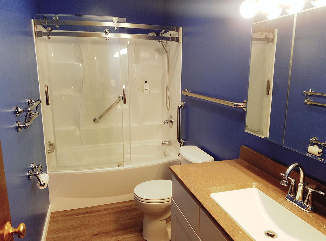 View Of Bathroom From Entrance