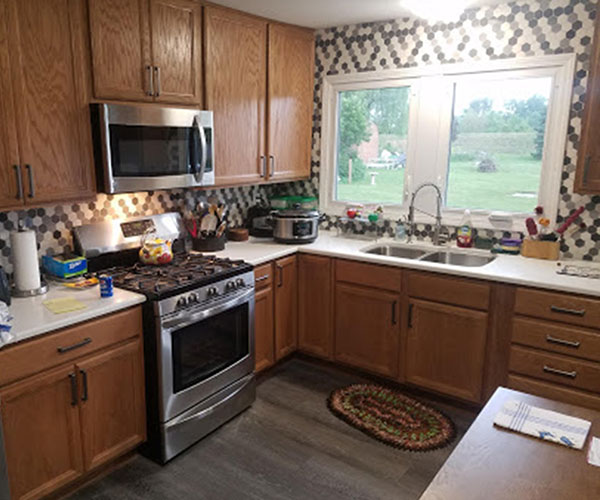 New Flooring In New Kitchen