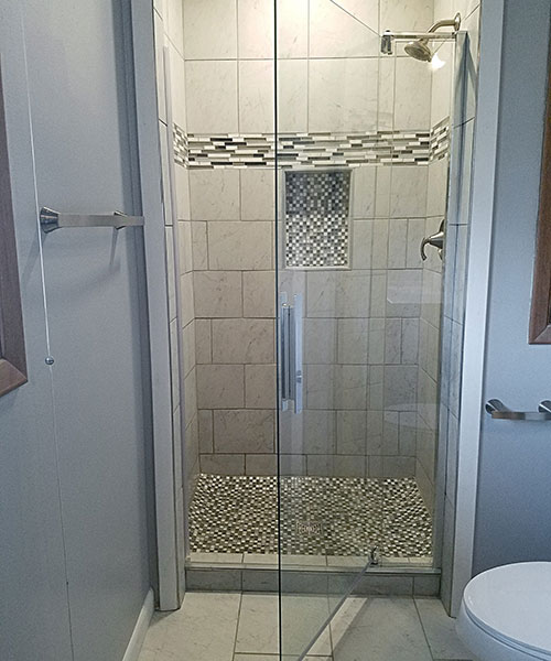 Contemporary Bathroom Shower