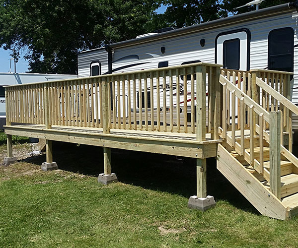 Deck From The Front