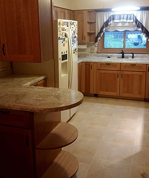 View Of Entire Kitchen