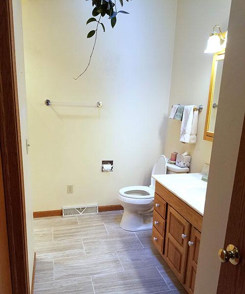 Bathroom View From Door
