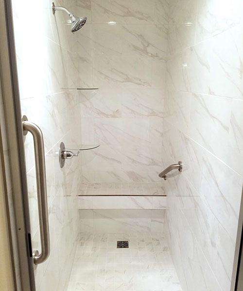Shower View From Shower Door