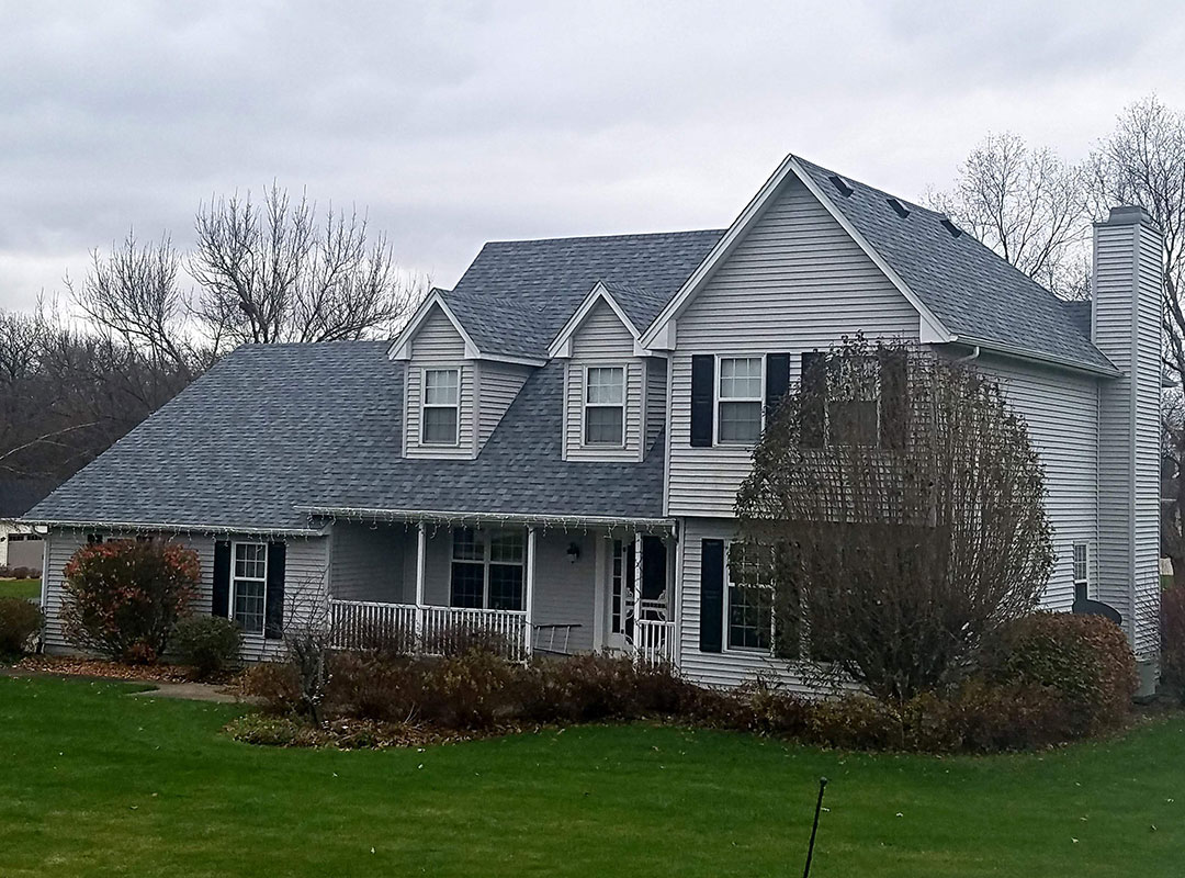 New Roof On House In Muscatine