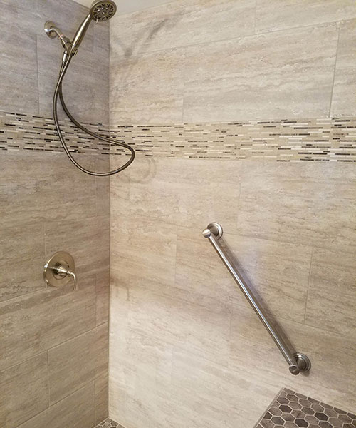 New Shower Faucets And Rail
