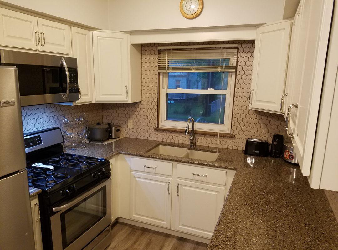 Kitchen View Window Over Sink