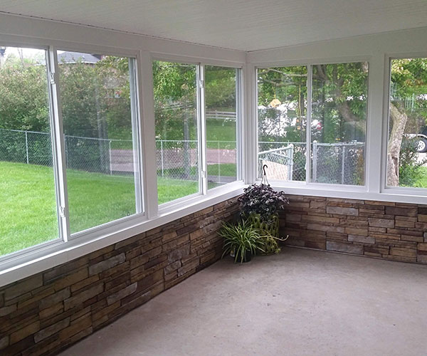 View Of 4 Season Room Interior