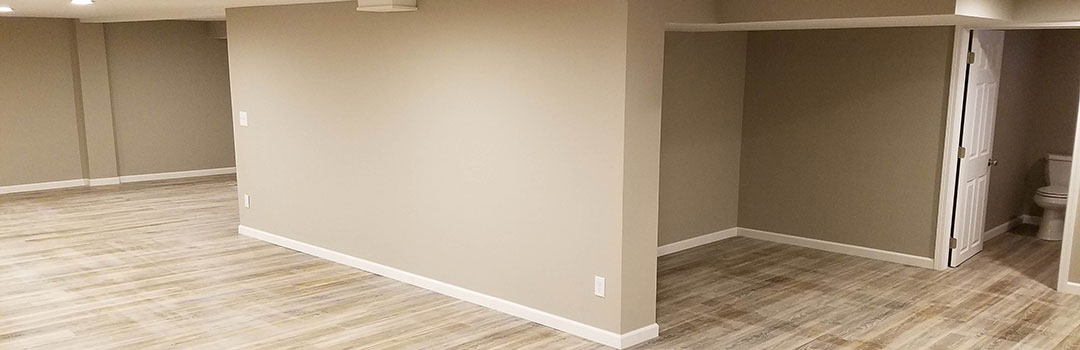 Banner For Basement With Bathroom