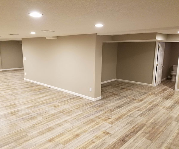 View From Bathroom Side Of Basement