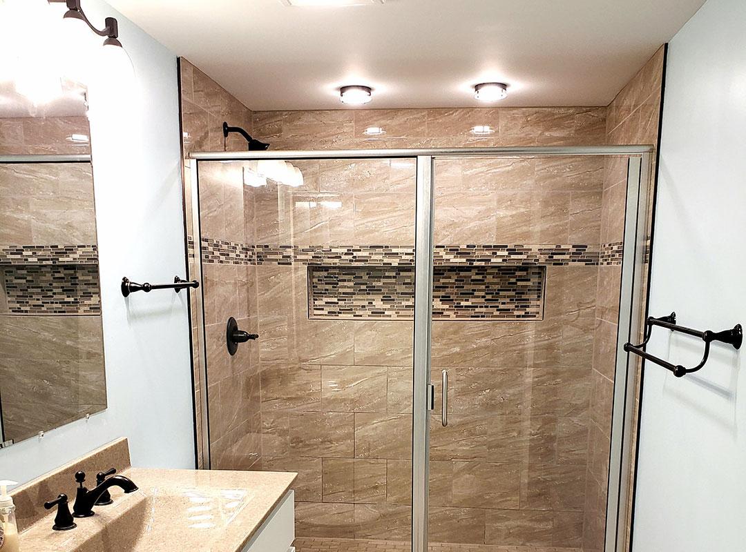 Full View Basement Bathroom