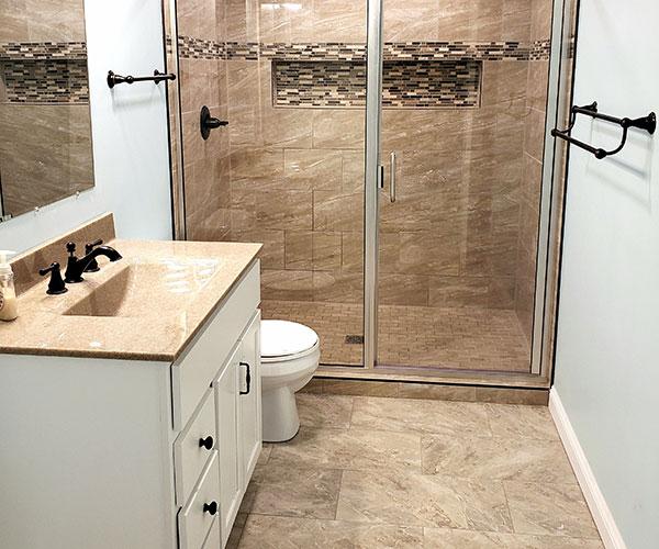 Basement Bathroom Lower View